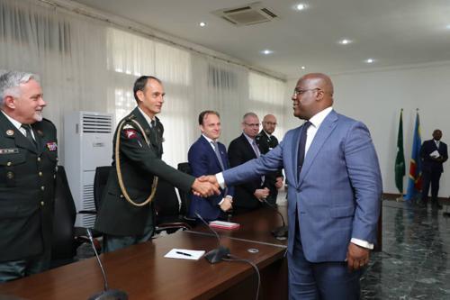 La RDC et la Belgique discutent pour redynamiser leur