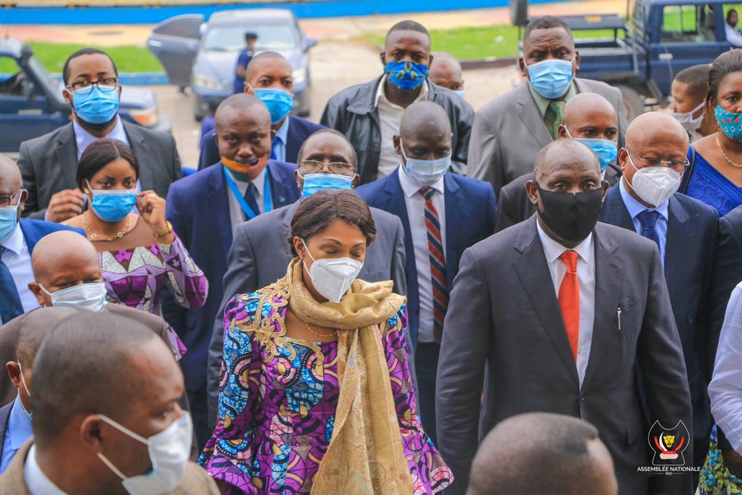 Jeanine Mabunda destituée — Urgent